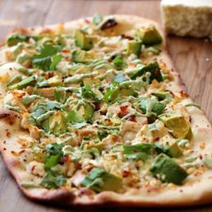 Avocado & Cheese Naan