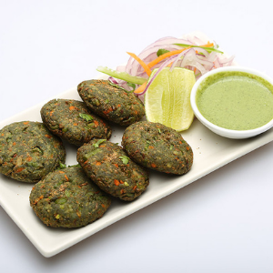 Vegetable Hara Bhara Kabab (4 pieces)